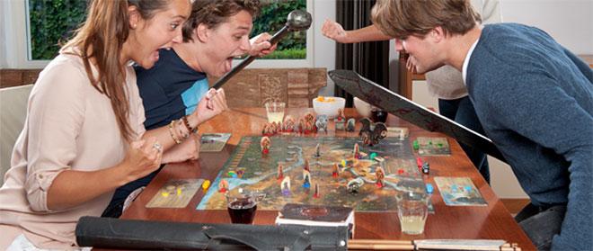 Gezellig samen spelletjes spelen