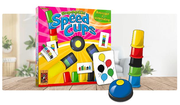 999 Games - De beste spellentips voor kids - Stapelgekke Speed Cups