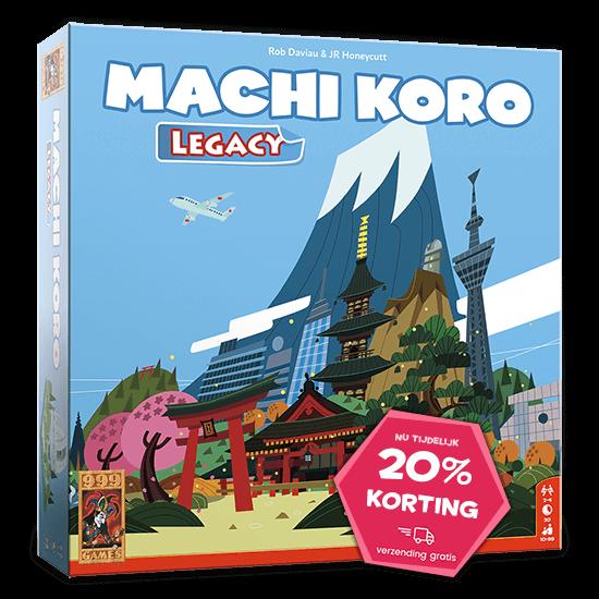 Machi Koro Legacy aanbieding