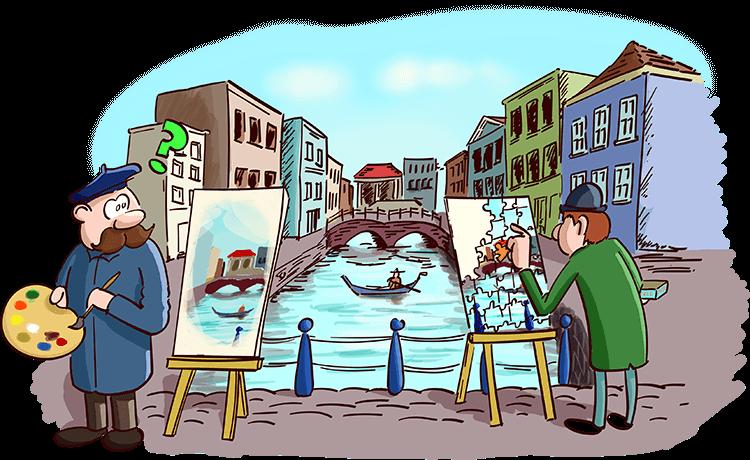 Kunstenaars in actie