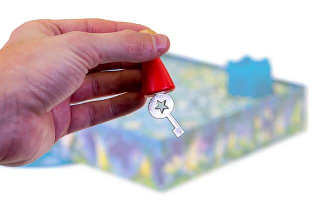 Unieke Kinderspellen Van Drie Magiërs Spellen Met Magnetische Elementen