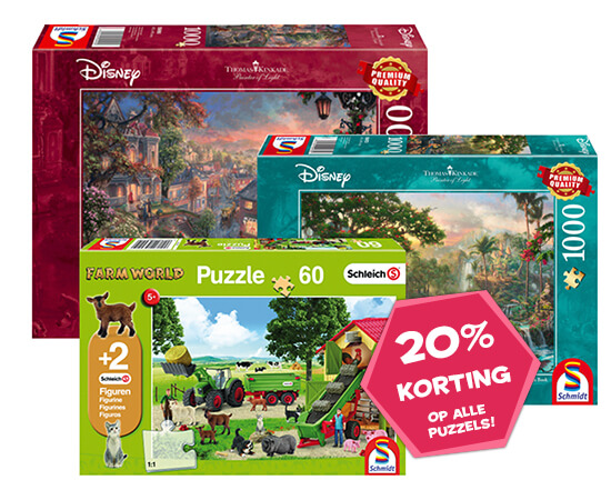 Puzzels - 20% korting