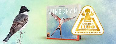 Het Bordspel Wingspan Heeft De Belgische Spellenprijs De Gouden Ludo Gewonnen