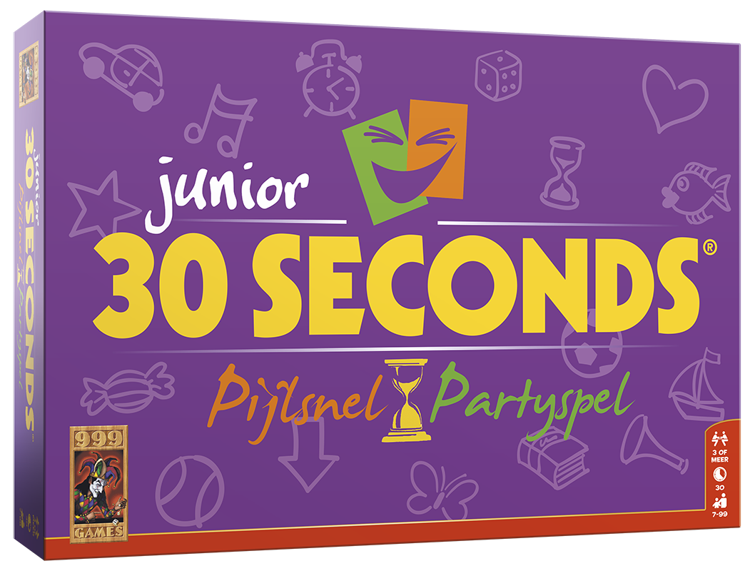 30 Seconds ® Junior - Bordspel