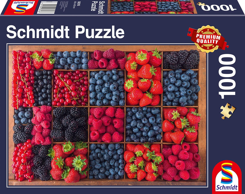 Bessen Oogst  1000 stukjes - Puzzel