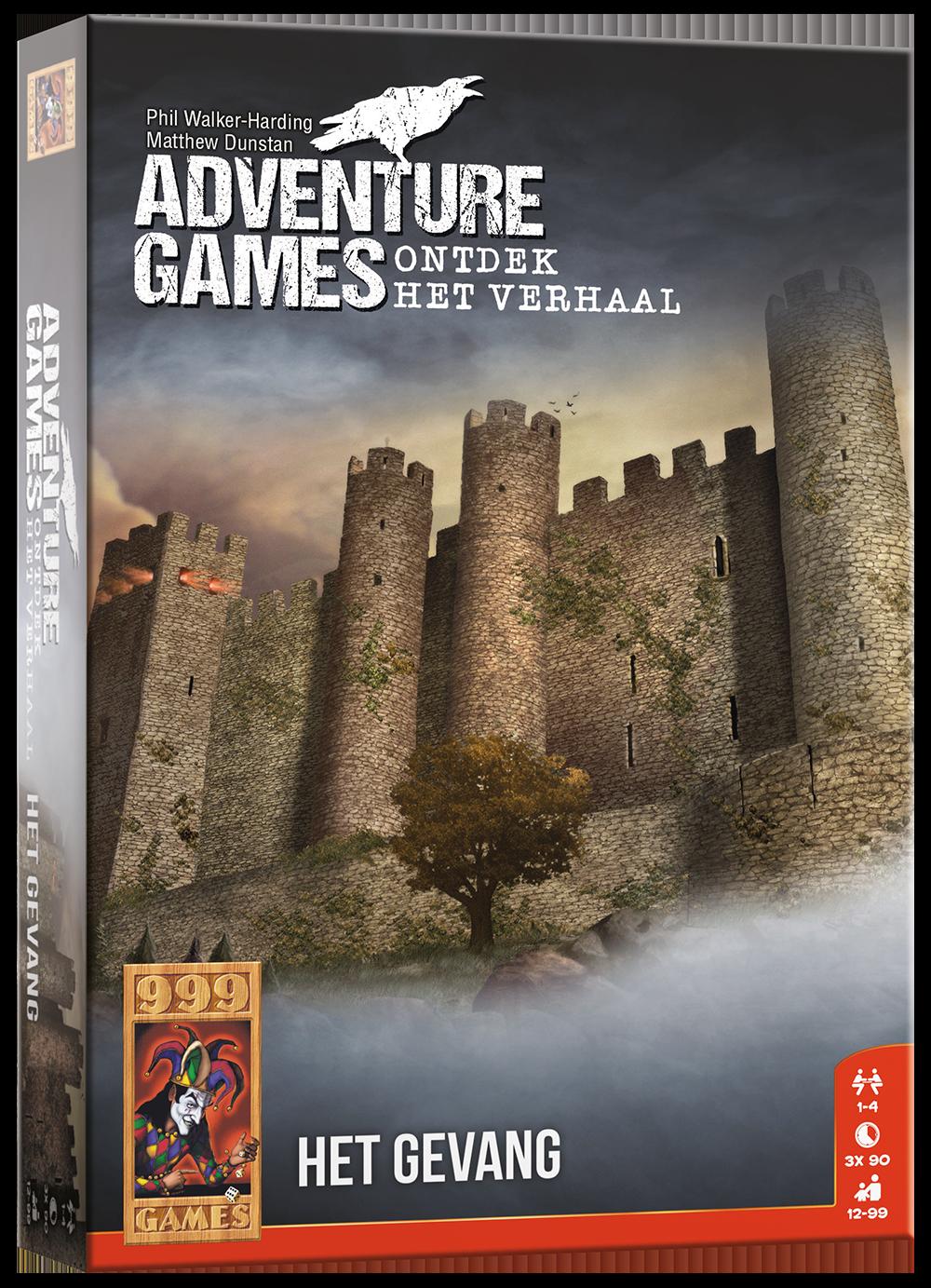 Adventure Games - Het Gevang - Breinbreker