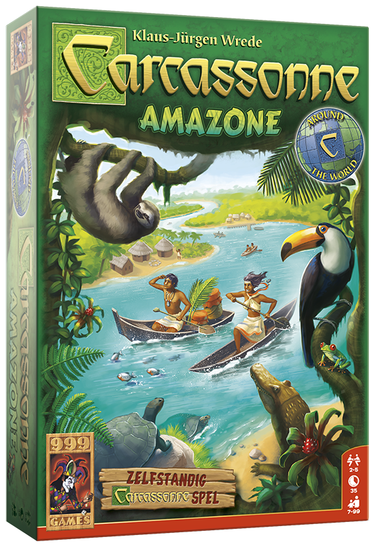 Carcassonne: Amazone - Bordspel