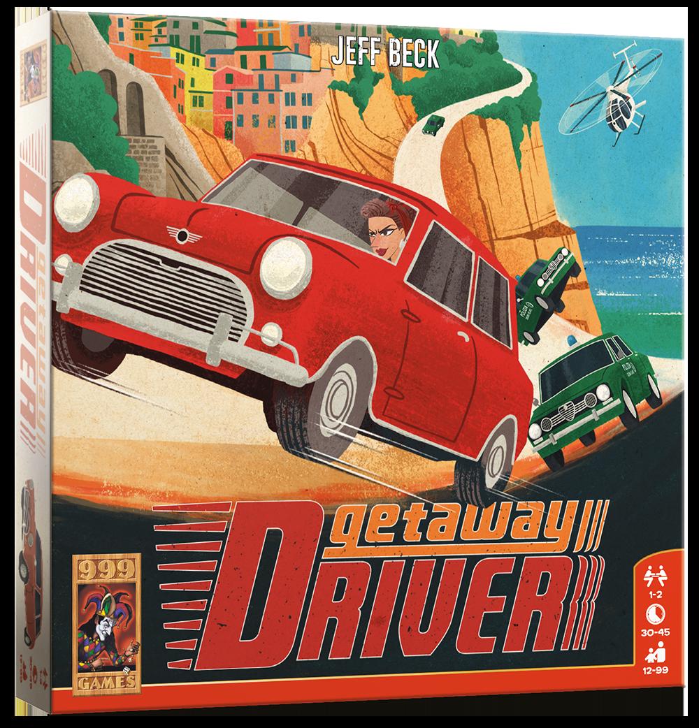 Getaway Driver - Bordspel