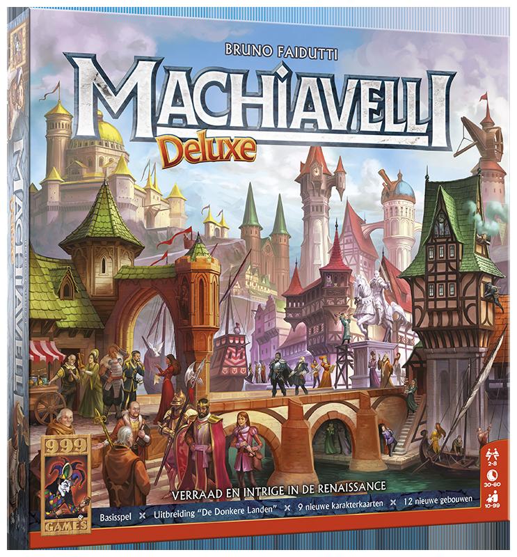 Machiavelli Deluxe - Kaartspel