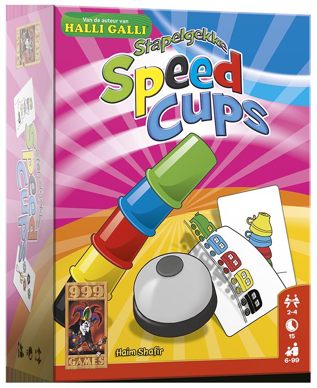 Stapelgekke Speed Cups - Actiespel