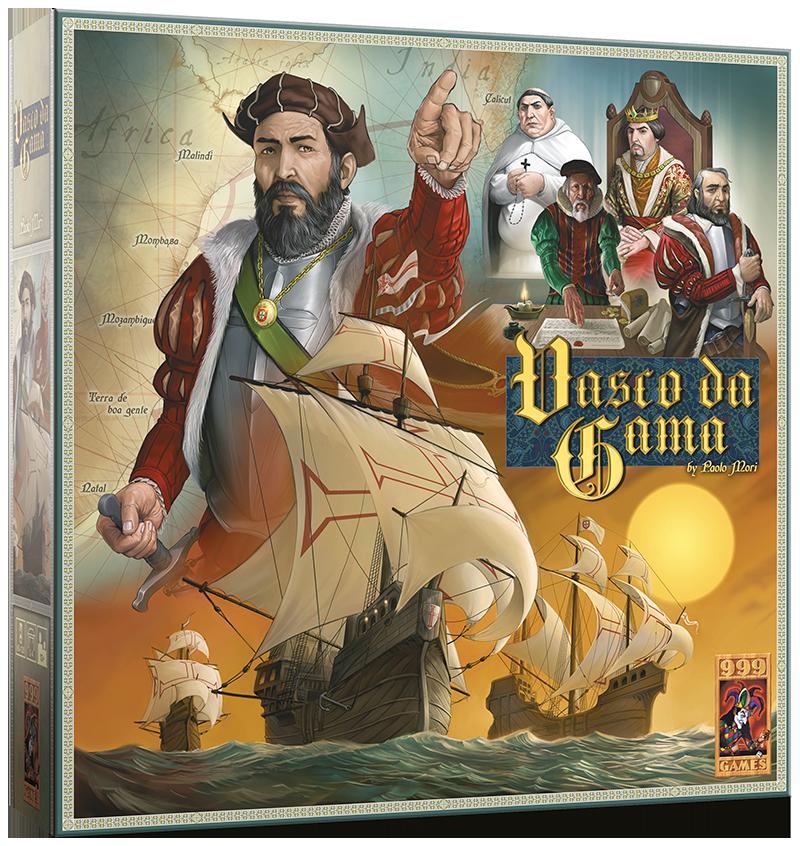 Vasco da Gama - Bordspel
