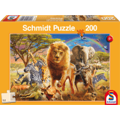African wildlife 200 pcs
