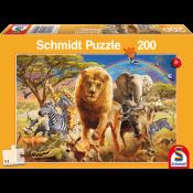 African wildlife 200 pcs