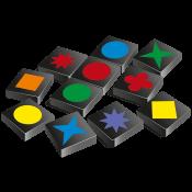 Qwirkle-Reiseditie-speelmateriaal