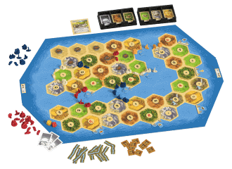 Catan - Schatten, Draken en Ontdekkingsreizigers spel