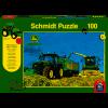 7310R Traktor mit 8600i Feldhäcksler, 100 Teile + SIKU Trakt