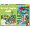 A Day at the Zoo 2x26 pcs