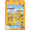 Animals of the Savanna 60 pcs