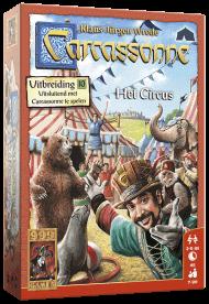 Carcassonne Uitbreiding Het Circus
