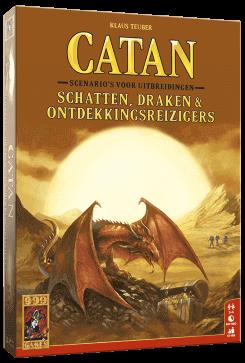Catan - Schatten Draken en Ontdekkingsreizigers