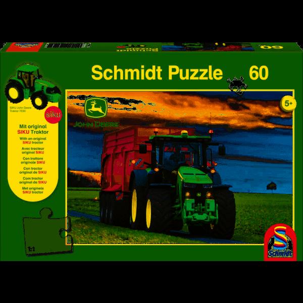 8370R Traktor, 60 Teile +SIKU Traktor
