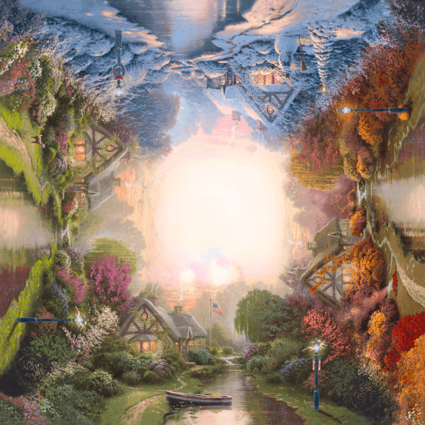 A Quiet Evening Seasons 1000 pcs