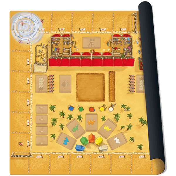 Camel Up playmat Grandprix of the Desert