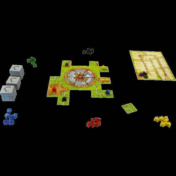 Carcassonne-Rad-van-Fortuin_spelmateriaal