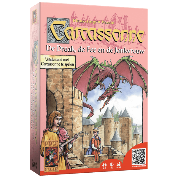 Carcassonne-Uitbreiding-De-Draak-De-Fee-en-de-Jonkvrouw