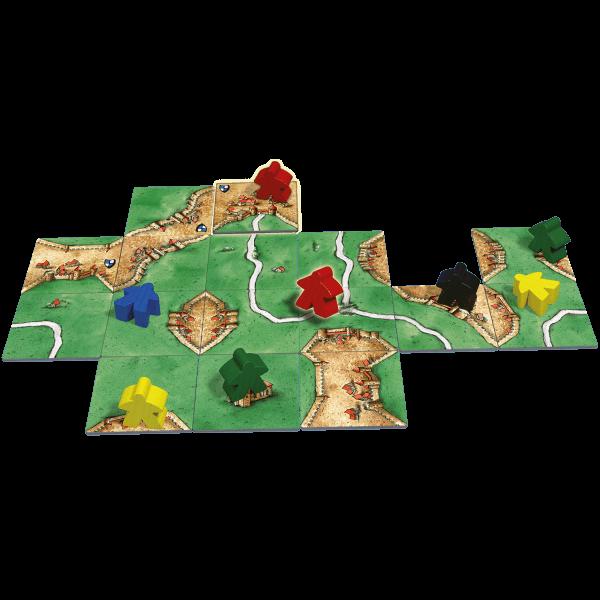 Carcassonne-speelmateriaal