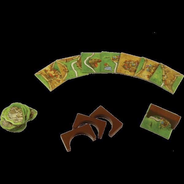 Carcassonne Bruggen, Burchten en Bazaars spel