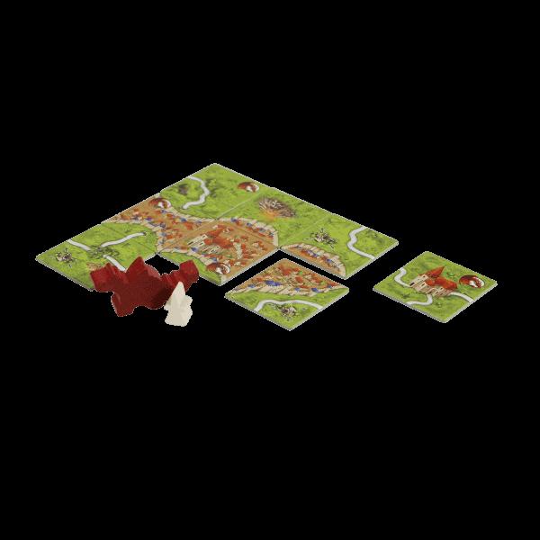 Carcassonne De Draak, De Fee en de Jonkvrouw speelmateriaal_web_globe