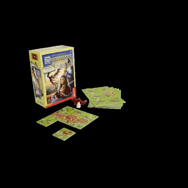 Carcassonne De Draak, De Fee en de Jonkvrouw speelmateriaaldoos2_WEB