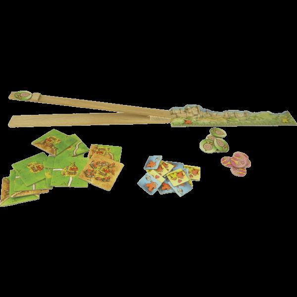 Carcassonne De Katapult spel