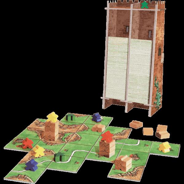 Carcassonne De Toren spel