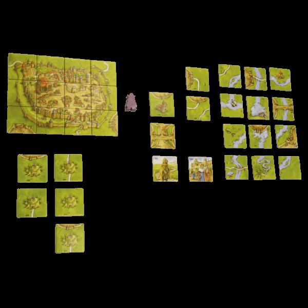 Carcassonne Graaf Koning en Consorten spel