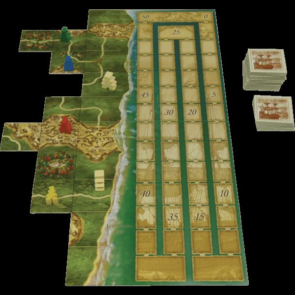 Carcassonne Mayflower spel