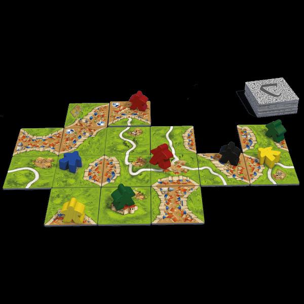 Carcassonne basis nieuw spel