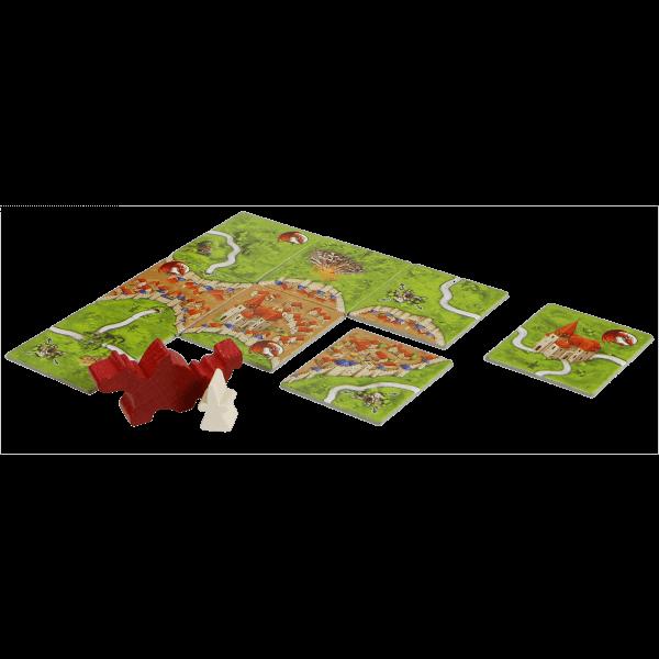Carcassonne de  Draak, de Fee en de Jonkvrouw spel