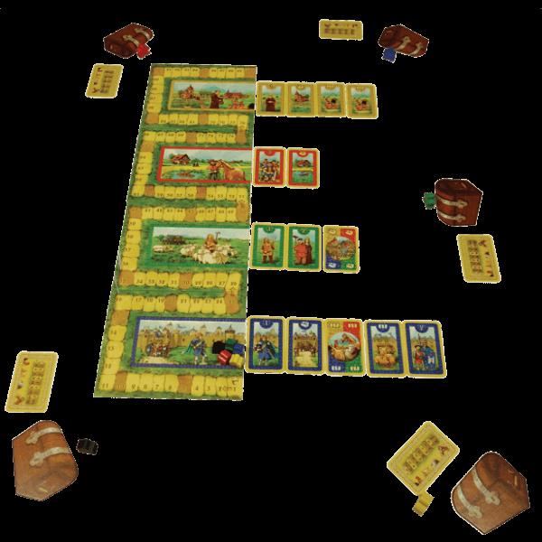 Cardcassonne spel