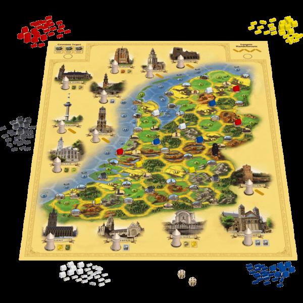 De-Kolonisten-van-De-Lage-Landen spel