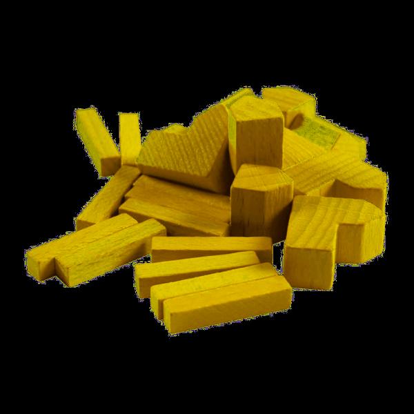 De Kolonisten van Catan Dobbelbeker Speelset geel