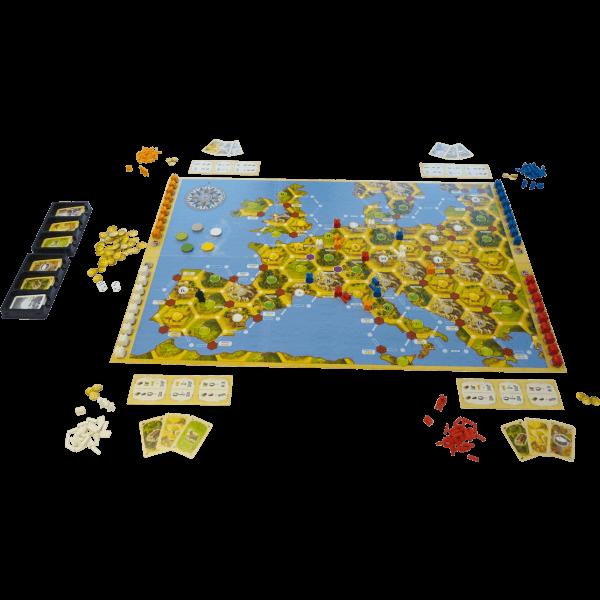 De Kolonisten van Catan Europa Ontwaakt_spelmateriaal