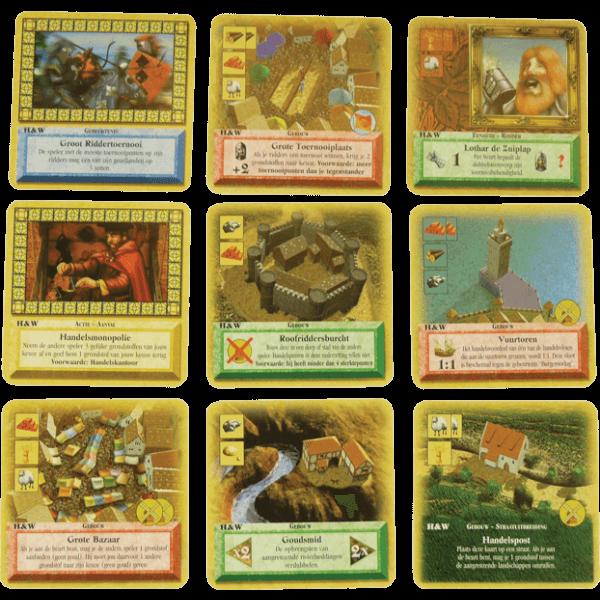 De Kolonisten van Catan Het Kaartspel Handel en Wandel spel