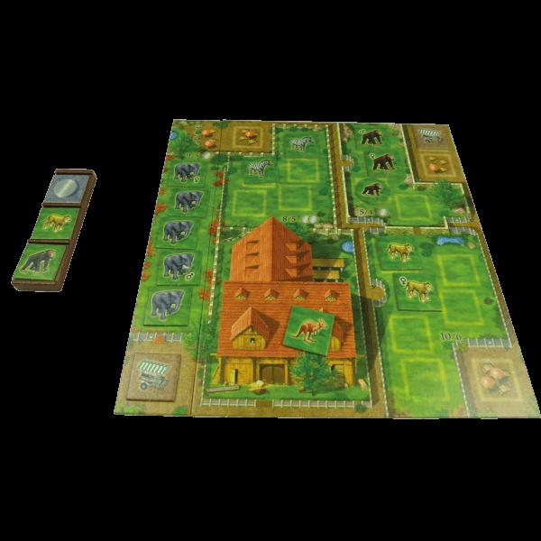 Dierentuin-Bordspel-spel