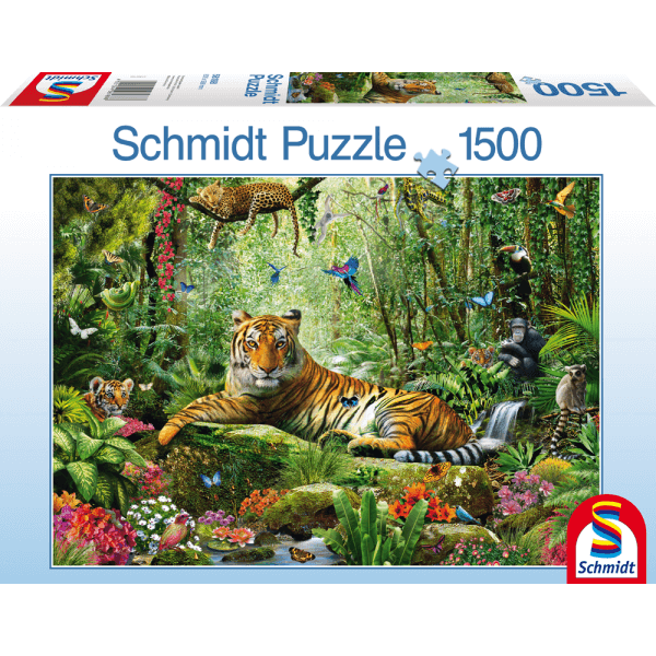 Djungle Tigers 1500 pcs