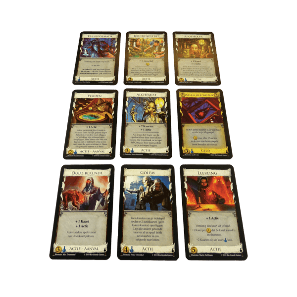 Dominion de Alchemisten spel