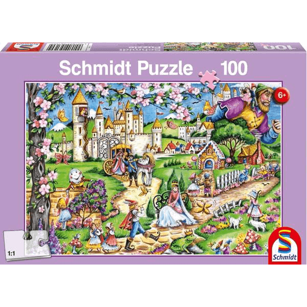 Fairytale world, 100 pcs