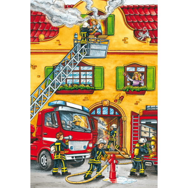 Fire brigade and police 2x26 pcs
