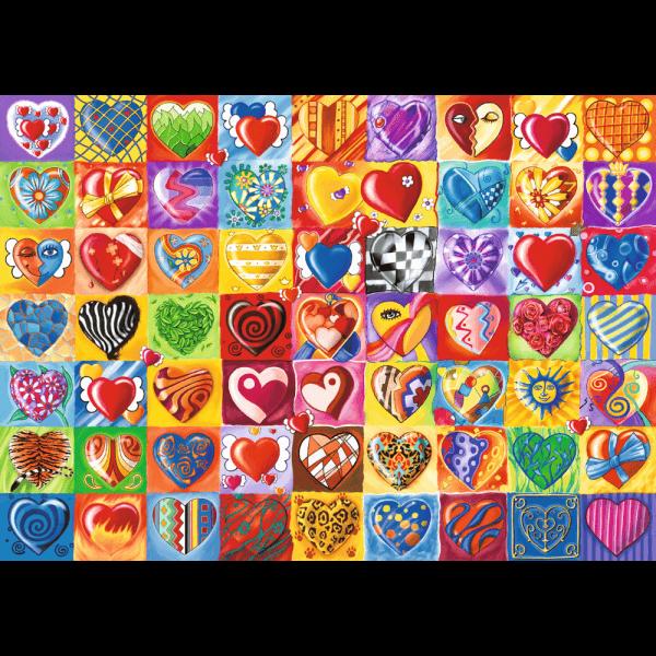 Heart-throb 1000 pcs